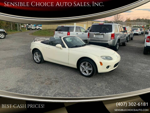 2006 Mazda MX-5 Miata for sale at Sensible Choice Auto Sales, Inc. in Longwood FL