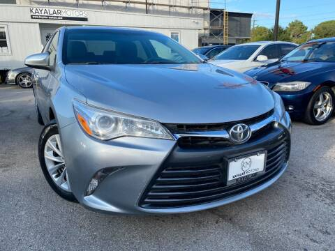 2015 Toyota Camry for sale at KAYALAR MOTORS in Houston TX