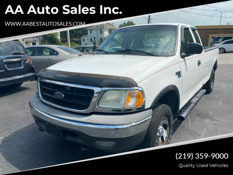 2002 Ford F-150 for sale at AA Auto Sales Inc. in Gary IN