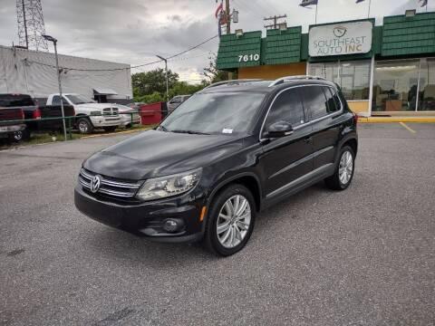 2016 Volkswagen Tiguan for sale at Southeast Auto Inc in Baton Rouge LA