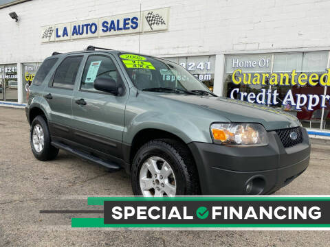 2005 Ford Escape for sale at LA Auto & RV Sales and Service in Lapeer MI
