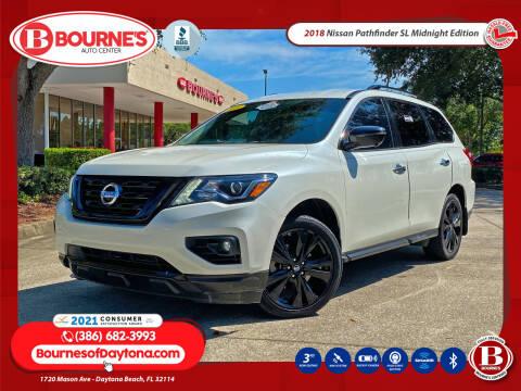 2018 Nissan Pathfinder for sale at Bourne's Auto Center in Daytona Beach FL