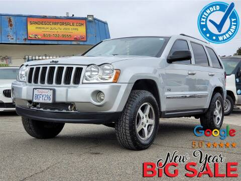 2006 Jeep Grand Cherokee for sale at Gold Coast Motors in Lemon Grove CA