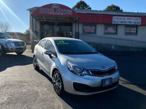 2014 Kia Rio for sale at Choice Motors of Salt Lake City in West Valley  City UT