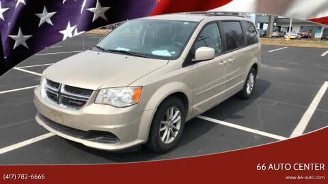 2014 Dodge Grand Caravan for sale at 66 Auto Center in Joplin MO