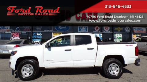 2017 Chevrolet Colorado for sale at Ford Road Motor Sales in Dearborn MI