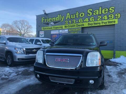 2010 GMC Yukon XL for sale at Friendly Auto Sales in Detroit MI