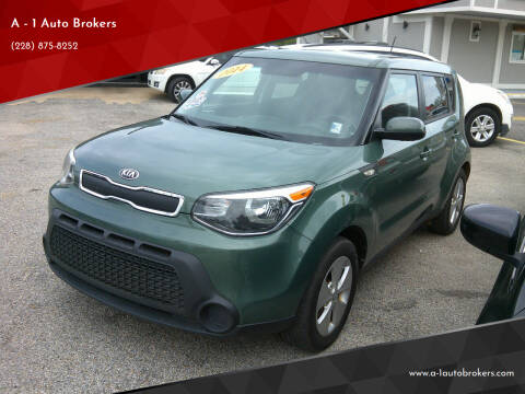2014 Kia Soul for sale at A - 1 Auto Brokers in Ocean Springs MS