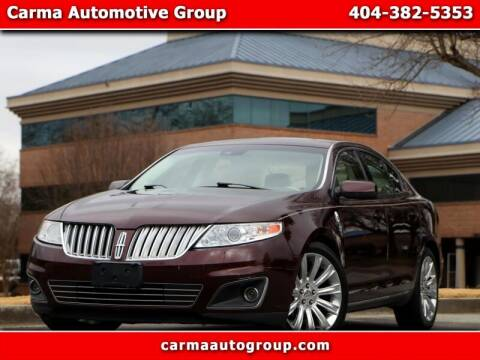 2009 Lincoln MKS for sale at Carma Auto Group in Duluth GA