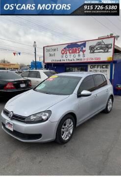 2012 Volkswagen Golf for sale at Os'Cars Motors in El Paso TX