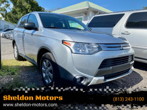 2015 Mitsubishi Outlander for sale at Sheldon Motors in Tampa FL