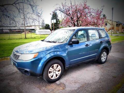 2009 Subaru Forester for sale at PORTLAND AUTO SALES LLC. in Portland OR