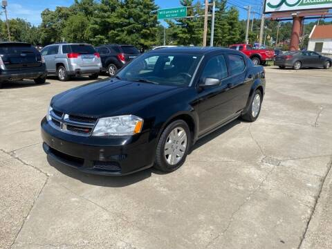 2014 Dodge Avenger for sale at Wolfe Brothers Auto in Marietta OH