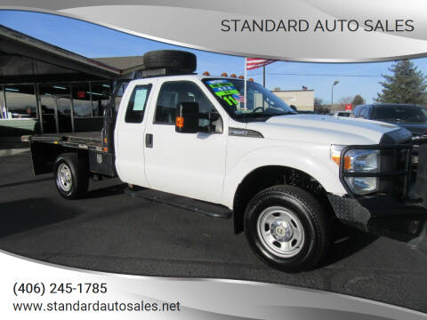 2011 Ford F-350 Super Duty for sale at Standard Auto Sales in Billings MT