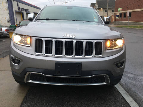 2015 Jeep Grand Cherokee for sale at B&T Auto Service in Syracuse NY