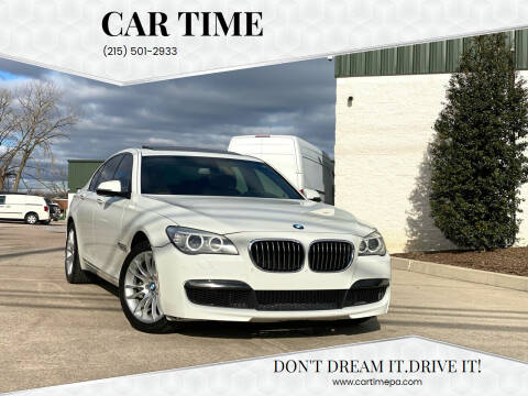 2013 BMW 7 Series for sale at Car Time in Philadelphia PA