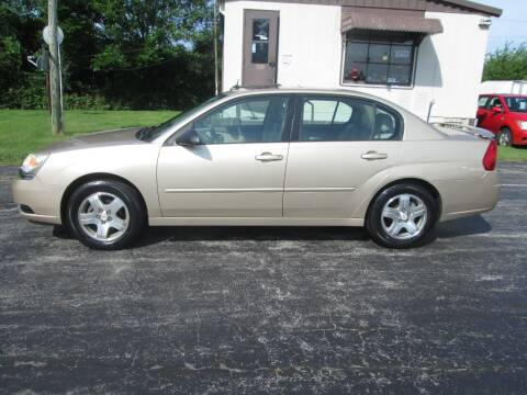 2005 Chevrolet Malibu for sale at Knauff & Sons Motor Sales in New Vienna OH