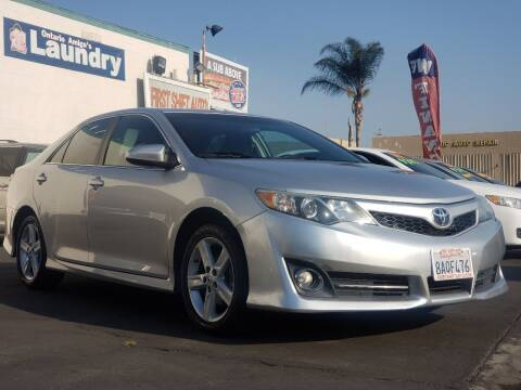 2014 Toyota Camry for sale at First Shift Auto in Ontario CA