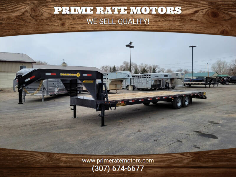 2021 Diamond-T 25'+5' Goose-Neck Single Wheel for sale at PRIME RATE MOTORS in Sheridan WY