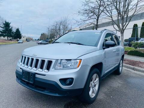 2011 Jeep Compass for sale at Washington Auto Sales in Tacoma WA