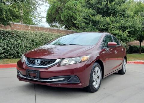 2015 Honda Civic for sale at International Auto Sales in Garland TX