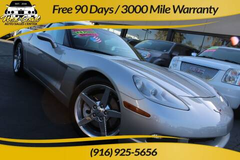 2006 Chevrolet Corvette for sale at West Coast Auto Sales Center in Sacramento CA