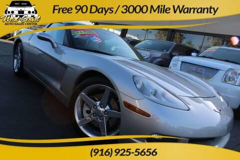 2006 Chevrolet Corvette for sale at West Coast Auto Sales Center in Sacramento CA