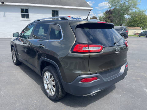 2014 Jeep Cherokee for sale at Chilson-Wilcox Inc Lawrenceville in Lawrenceville PA