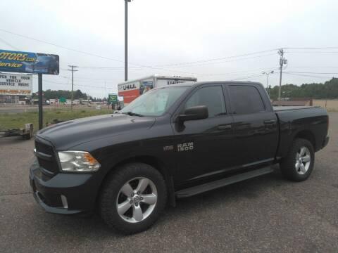 2013 RAM Ram Pickup 1500 for sale at Pepp Motors in Marquette MI