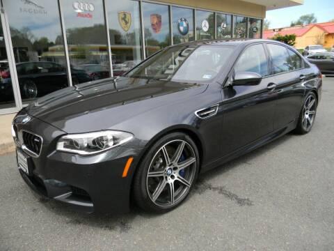 2016 BMW M5 for sale at Platinum Motorcars in Warrenton VA