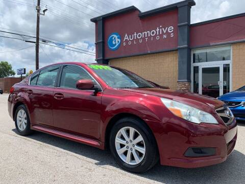 2011 Subaru Legacy for sale at Automotive Solutions in Louisville KY