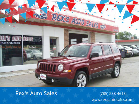 2011 Jeep Patriot for sale at Rex's Auto Sales in Junction City KS