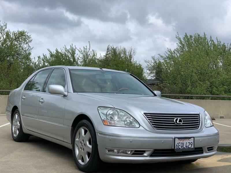 2004 Lexus LS 430 for sale at AutoAffari LLC in Sacramento CA