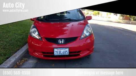 2013 Honda Fit for sale at Auto City in Redwood City CA