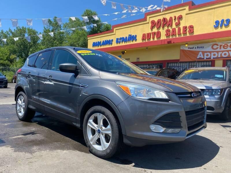 2013 Ford Escape for sale at Popas Auto Sales in Detroit MI