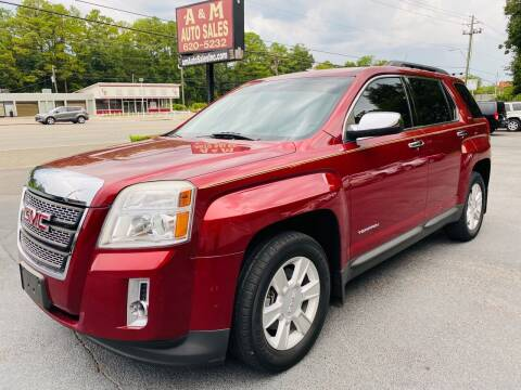 2012 GMC Terrain for sale at A & M Auto Sales, Inc in Alabaster AL