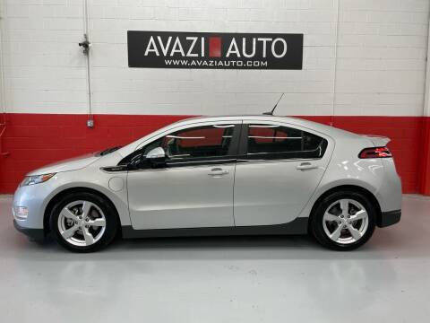 2012 Chevrolet Volt for sale at AVAZI AUTO GROUP LLC in Gaithersburg MD