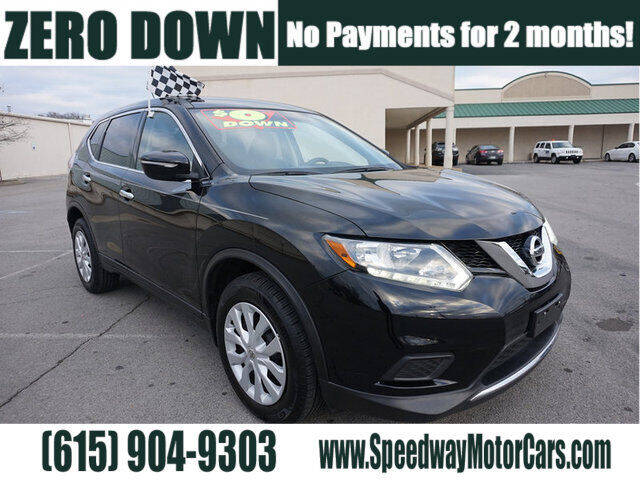 2015 Nissan Rogue for sale at Speedway Motors in Murfreesboro TN