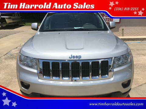 2011 Jeep Grand Cherokee for sale at Tim Harrold Auto Sales in Wilkesboro NC