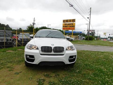 2014 BMW X6 for sale at Atlanta Fine Cars in Jonesboro GA