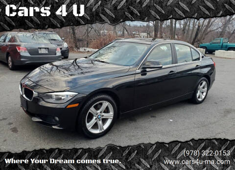 2015 BMW 3 Series for sale at Cars 4 U in Haverhill MA