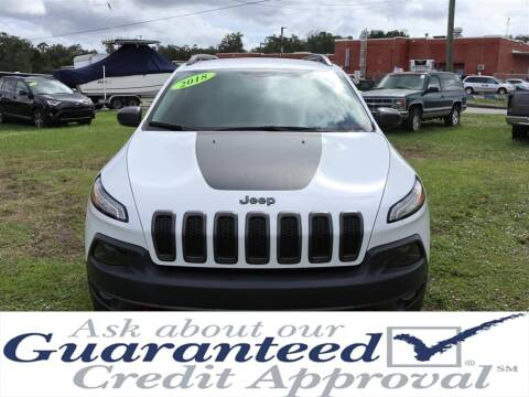 2018 Jeep Cherokee for sale at Universal Auto Sales in Plant City FL