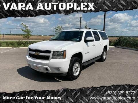 2010 Chevrolet Suburban for sale at VARA AUTOPLEX in Seguin TX