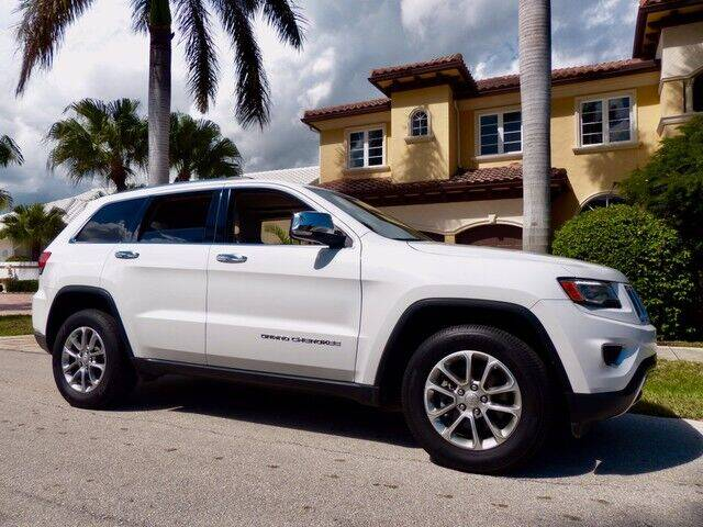 2016 Jeep Grand Cherokee for sale at Lifetime Automotive Group in Pompano Beach FL