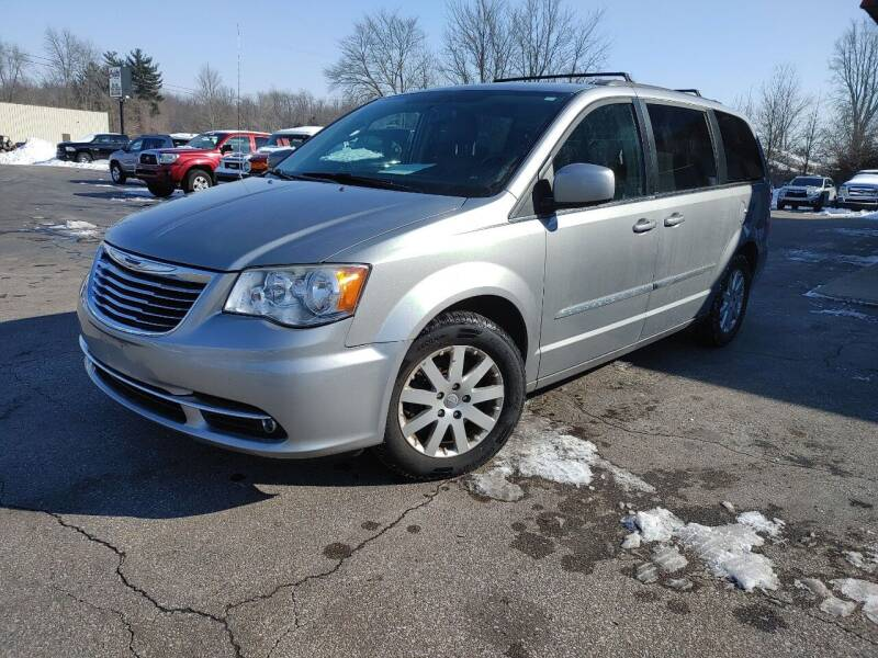 2014 Chrysler Town and Country for sale at Cruisin' Auto Sales in Madison IN