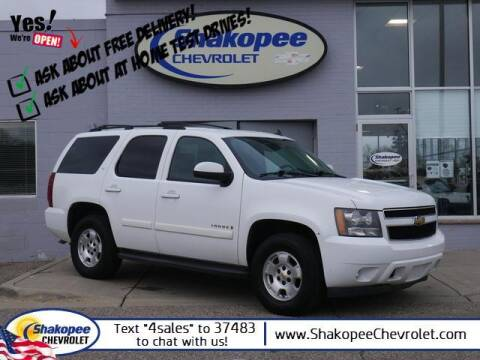 2009 Chevrolet Tahoe for sale at SHAKOPEE CHEVROLET in Shakopee MN