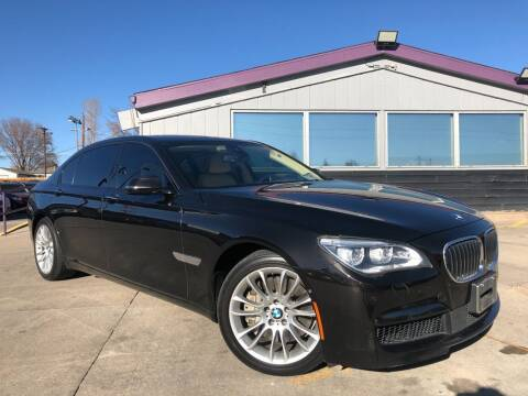 2015 BMW 7 Series for sale at Colorado Motorcars in Denver CO
