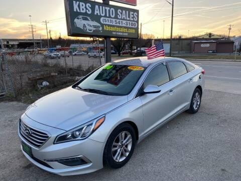 2015 Hyundai Sonata for sale at KBS Auto Sales in Cincinnati OH