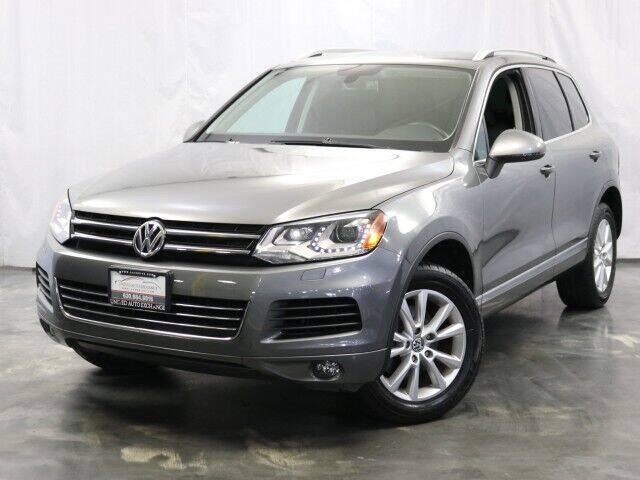 2014 Volkswagen Touareg for sale at United Auto Exchange in Addison IL