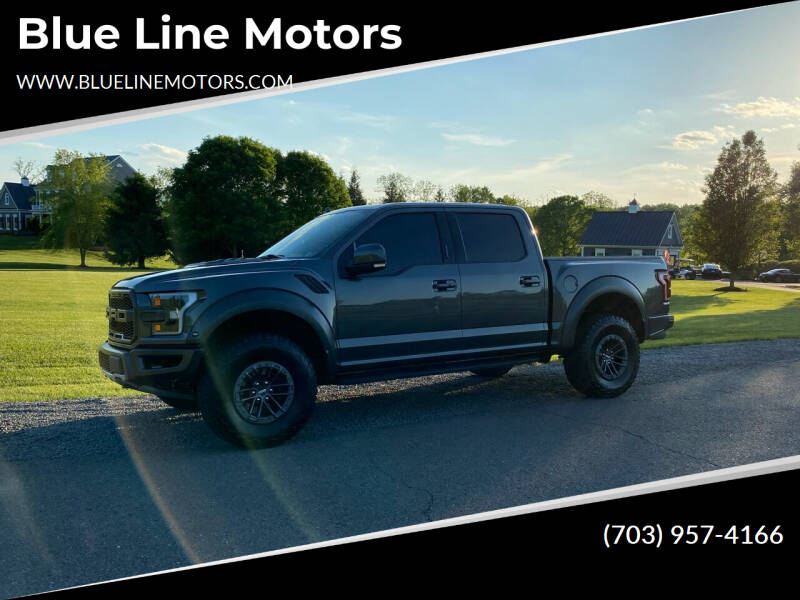 2020 Ford F-150 for sale at Blue Line Motors in Winchester VA